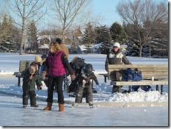 Deer Ridge Winter Skate Jan 12,2013