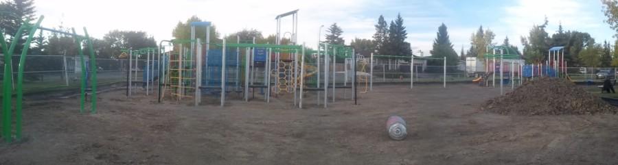 Deer Ridge Yellow Slide Park Playscape Sept 21,2013