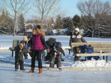 Deer Ridge Winter Skate at the Deer Ridge Ice Rinks -Don Bosco School.
