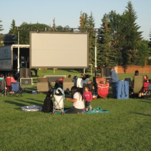Movie in the Park Deer Ridge
