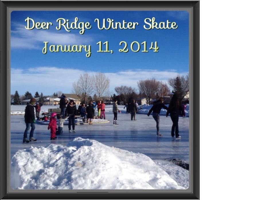 Deer Ridge Winter Skate - Jan 11,2014