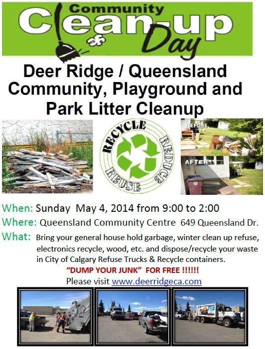Deer Ridge - Queensland Community Clean up May 4,  2014