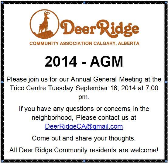 AGM - September 16, 2014