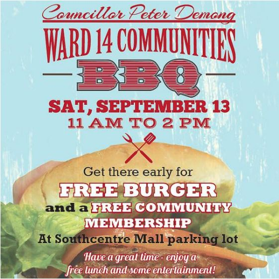 Ward 14 BBQ - 2014