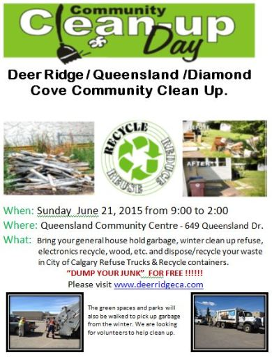 Deer Ridge Community Clean Up - June 21, 2015