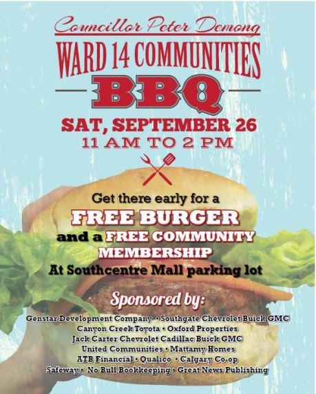 2015 -Ward 14 Community BBQ