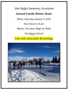 Deer Ridge Winter Skate - January 9, 2016