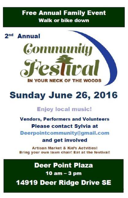 2016 Community Festival