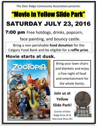 Movie in the Park - July 23, 2016