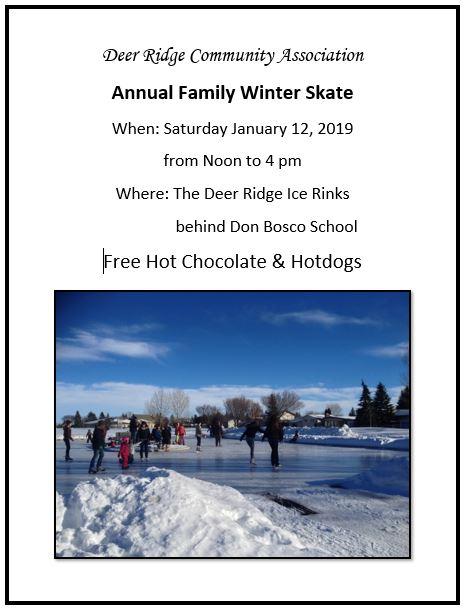 deer ridge winter family skate- january 12, 2019